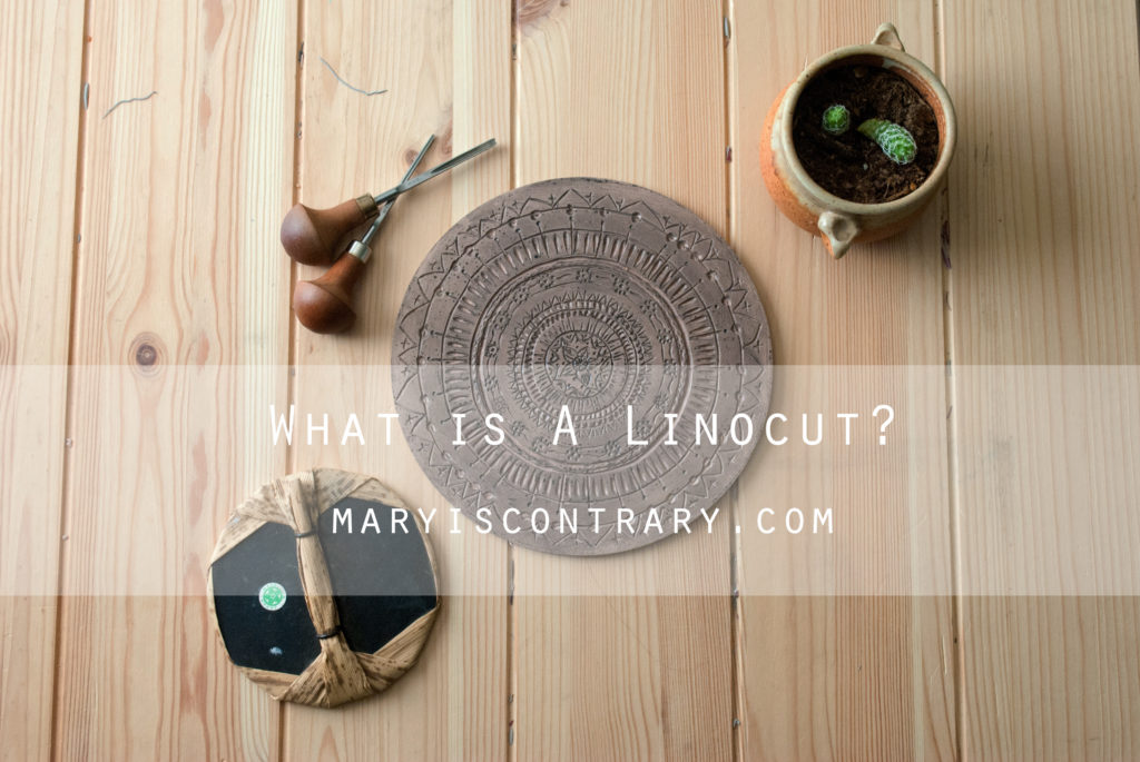 what is a linocut