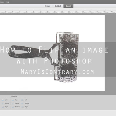 How to Flip an Image with Photoshop