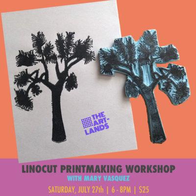 Linocut Printmaking Workshop
