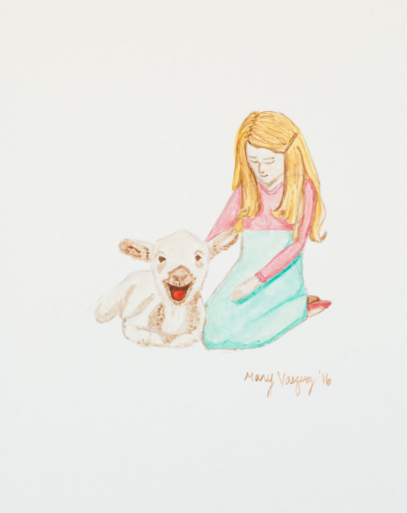 Mary and her Lamb