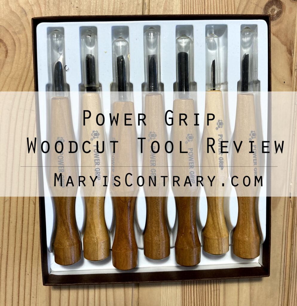 Power Grip Woodcut Tool Review